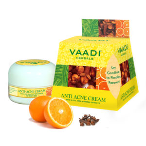 Vaadi Herbals Anti Acne Cream with Clove and Neem Extract – 30gm