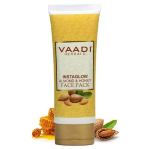 Vaadi Herbals Instaglow Almond and Honey Face Pack – 120gm
