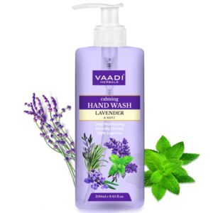Vaadi Herbals Calming Lavender and Mint Hand Wash – 25...