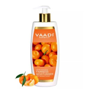 Vaadi Herbals White Radiance Fairness Moisturiser with Mandarin Extract – 350ml