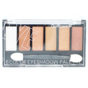Gulflower 6 Color Eyeshadow Palette no 3