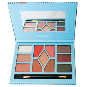 Exclusive Anylady Makeup Palette with Eyeshadow, Hightlighter and Bronzer for Women – 35g