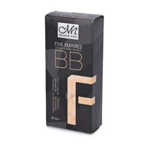 Menow Pro Five Features Extreme Bare Makeup BB Cream No 5 – 50ml