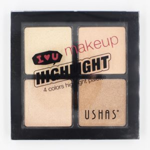 Ushas Makeup Quadruple Colors Highlighter-No 1
