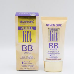Seven Girl Water Resistant Liquid Foundation Visible Lift BB...