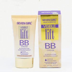 Seven Girl Water Resistant Liquid Foundation Visible Lift BB Cream Shade no 102 – 50ml