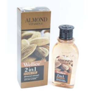 Wellice 2 in 1 Nourish Essence Professional Care Almond Vita...