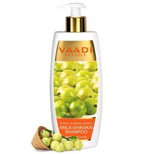 Vaadi Herbals Hairfall And Damage Control Amla Shikakai Shampoo – 350ml