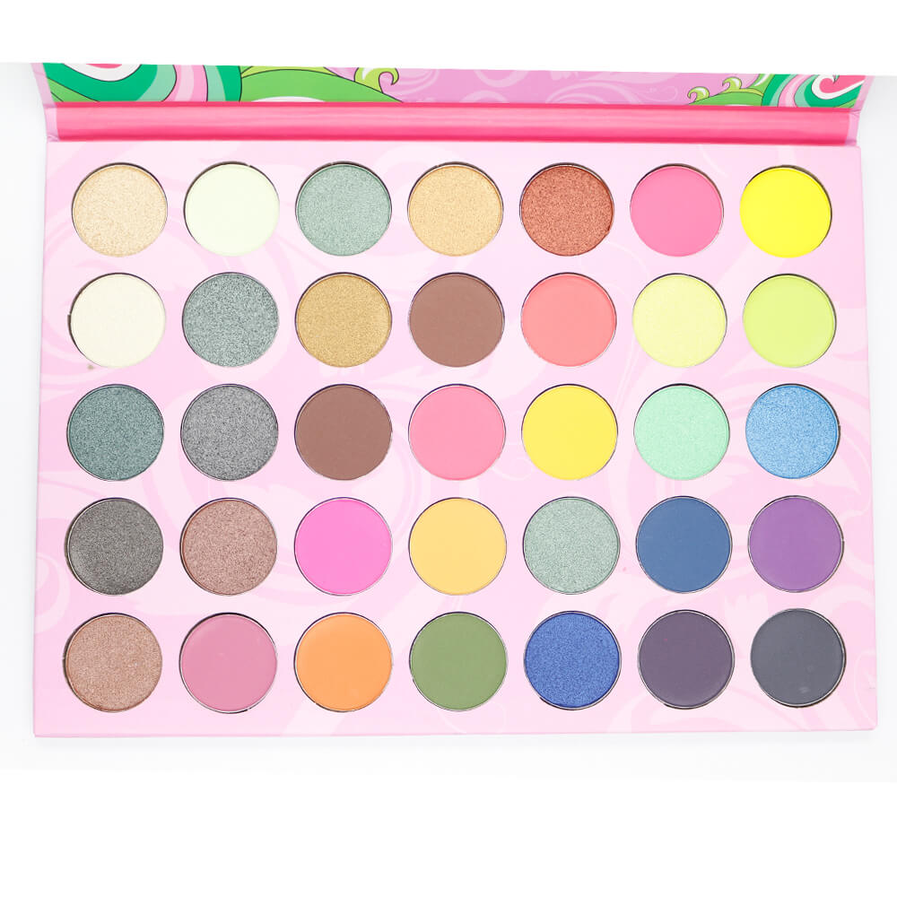 Professional One 35 Color bright Eyeshadow Palette