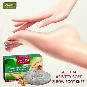 Vaadi Herbals Elbow Foot Knee Scrub Soap – 75Gms