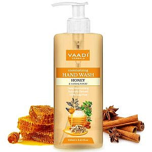 Vaadi Herbals Deep Moisturizing Handwash with Pure Honey & Sandal – 250 ml
