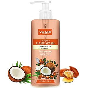 Vaadi Herbals Instaglow Argan Oil and Coconut Hand Wash -250 ml
