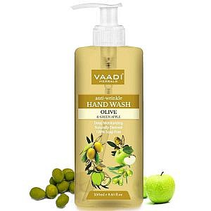 Vaadi Herbals Anti-Wrinkle Olive and Green Apple Hand Wash-250ml