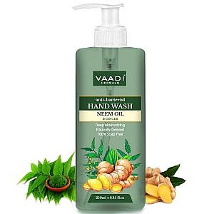 Vaadi Herbals Anti-Bacterial Neem Oil and Ginger Hand Wash-250ml