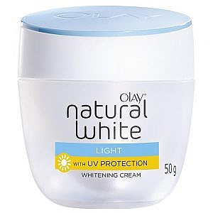 Olay Natural White Light With UV Protection Whitening Cream – 50g