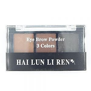 Hai Lun Li Ren 3 Color Eyebrow Powder No 4
