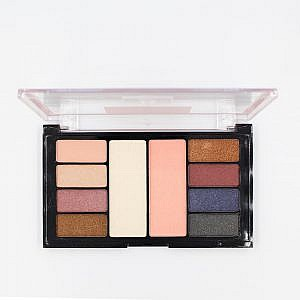 S.F.R Total Temptation Eyeshadow And Highlight Palette