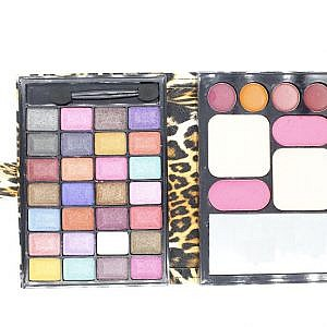 B And L Purse Style Makeup Kit With Eye Shadow, Blusher, Pre...