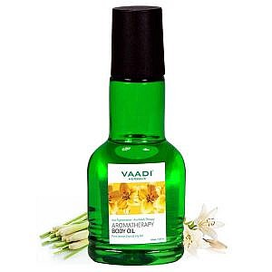 Vaadi Herbals Aromatherapy Body Oil With Pure Lemon Grass &#...
