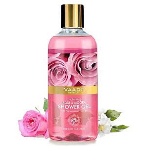 Vaadi Herbals Enchanting Rose and Mogra Shower Gel – 3...