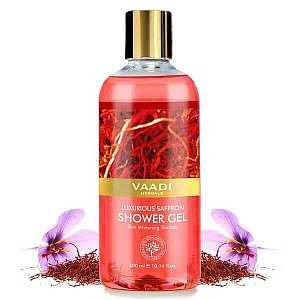 Vaadi Herbals Luxurious Saffron Shower Gel – 300ml