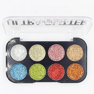 Ever Beauty 8 Color Ultra Glitter – 12.46G