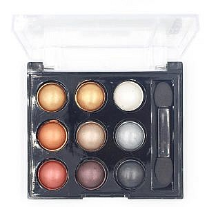 S.F.R Color 9 Shades Cream Eyeshadow Palette No 3