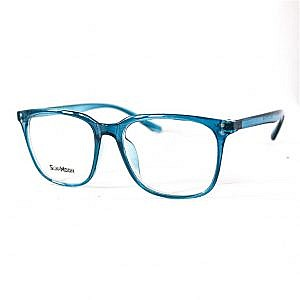 SUN MOON Plastic Rectangle Frame- Blue