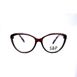 S&P Plastic Light Frame – Brown Cat Shape