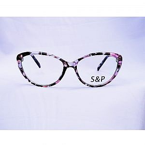S&P Plastic Light Frame – Flower Print Cat Shape
