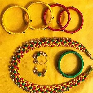 Multi-color Necklace Set