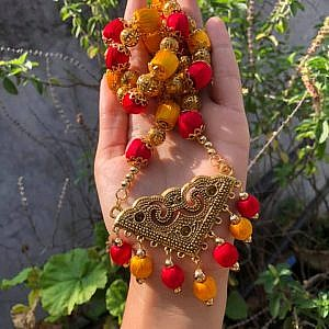 Antique Pendant Neckpiece