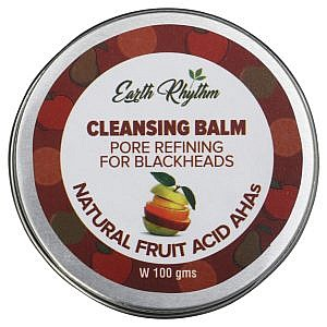 Soapworks Pore Refining Cleansing Balm With Natural Fruit Ahas – 100 Gm