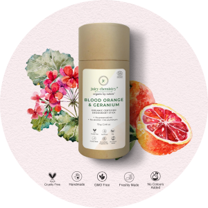 Juicy Chemistry Blood Orange & Geranium Deodorant Stick ...