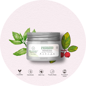 Juicy Chemistry Pain Relief Balm with Wintergreen & Pep...