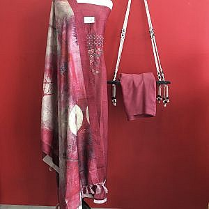 High Quality Fabric Kurtha Surwal Set