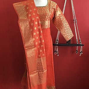 Kurti With Shawl