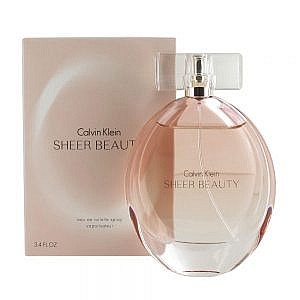 Calvin Klein Sheer Beauty Eau de Toilette Spray for Women 100ml