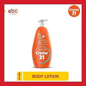 Creme 21 Dry Skin Body Lotion With Pump 600 ml