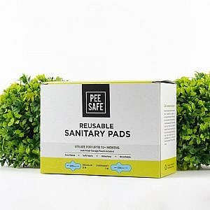 Pee Safe Resuable Sanitary Pads Pack of Four (Three Regular ...