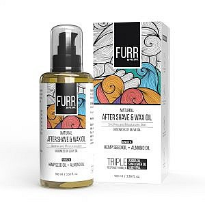 FURR By Pee Safe Natural After Shave & Wax Oil – 100ml