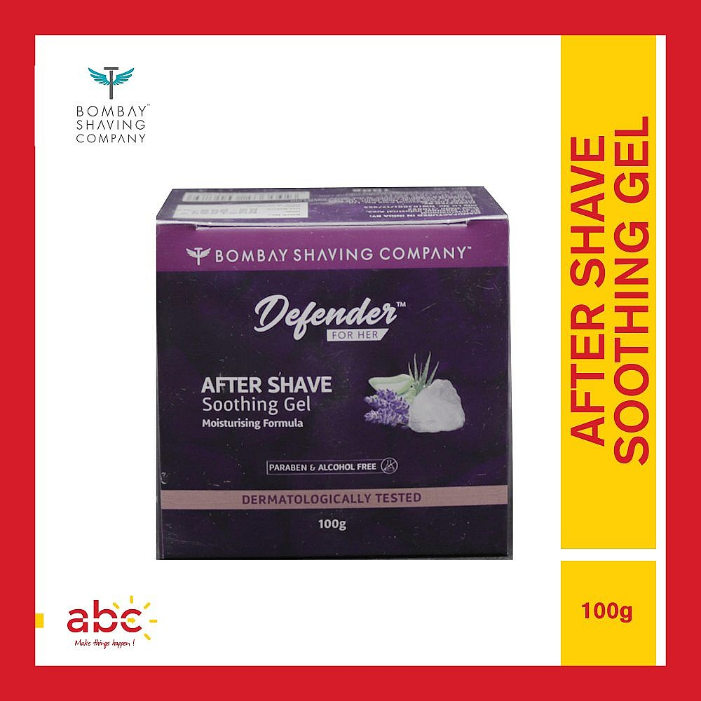 Bombay Shaving Company After Shave Soothing Gel For Women | 100GM