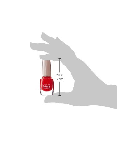 Lakme True Wear Nail Color Red 501 | 9ML