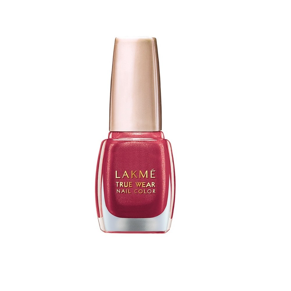 Lakme True Wear Nail Color   Red 506