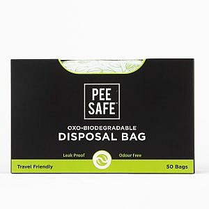 Pee Safe Oxo – Biodegradable Disposable Bags (Pack of 50 Bags)