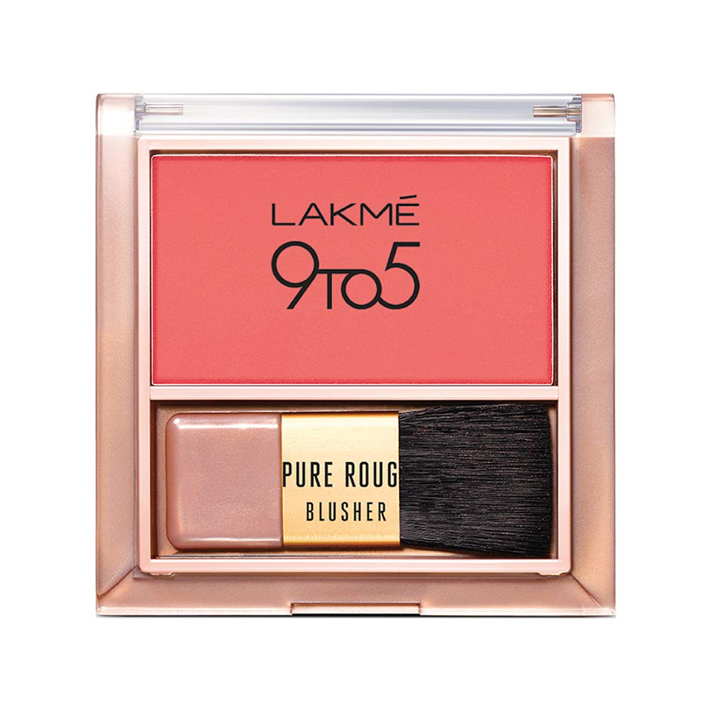Lakme 9 To 5 Pure Rouge Blusher   6G