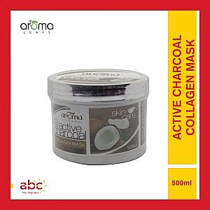 Aroma Leafs Active Charcoal Collagen Mask – 500ml