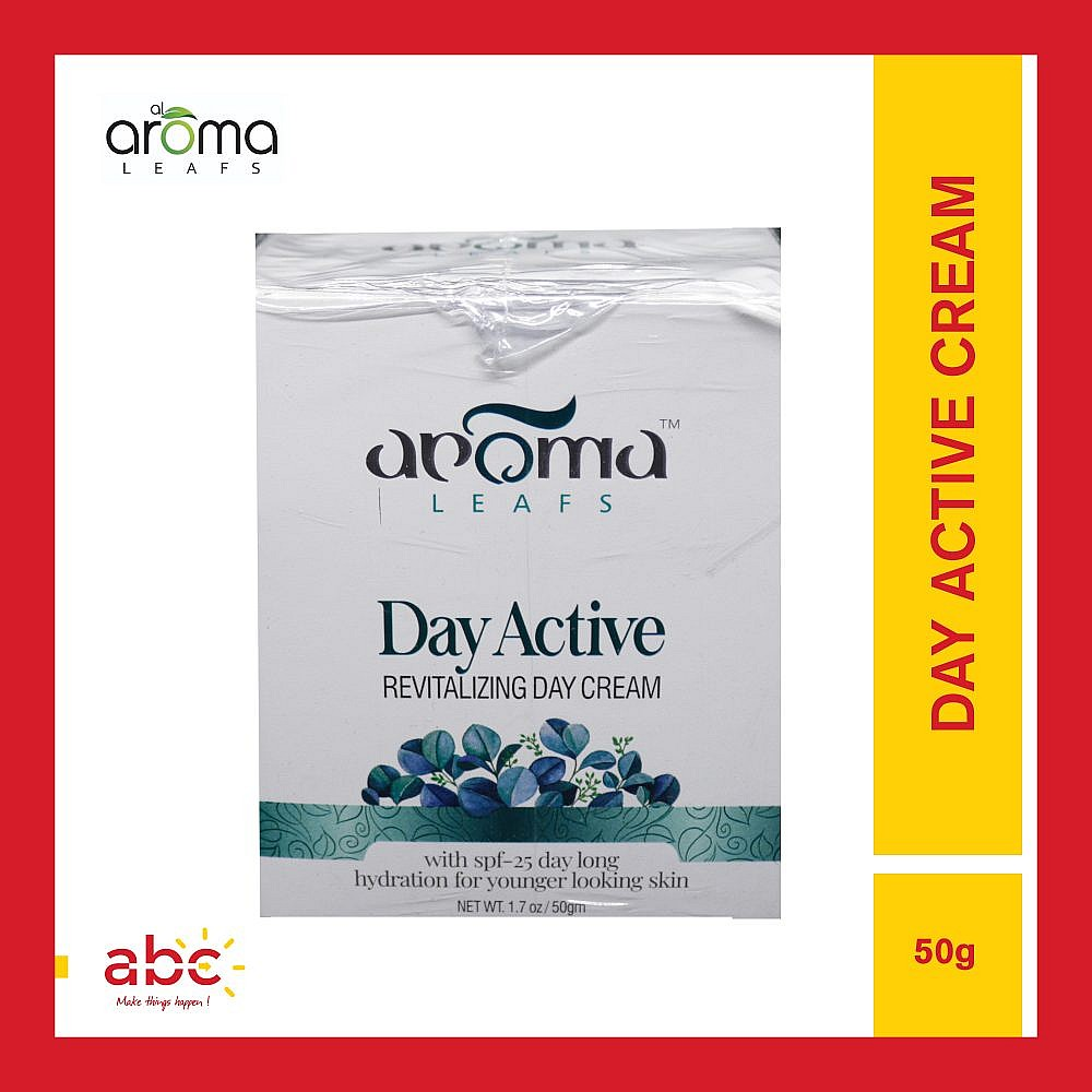 Aroma Leafs Day Active Revitalizing Day Cream | SPF25
