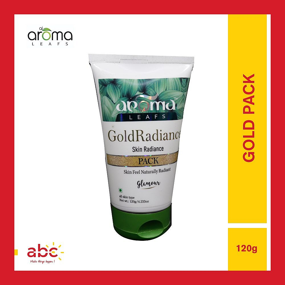 Aroma Leafs GoldRadiance Skin Radiance Pack - 120gm
