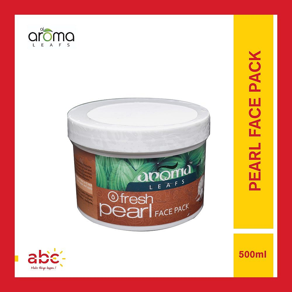 Aroma Leafs Fresh Pearl Face Pack - 500ml